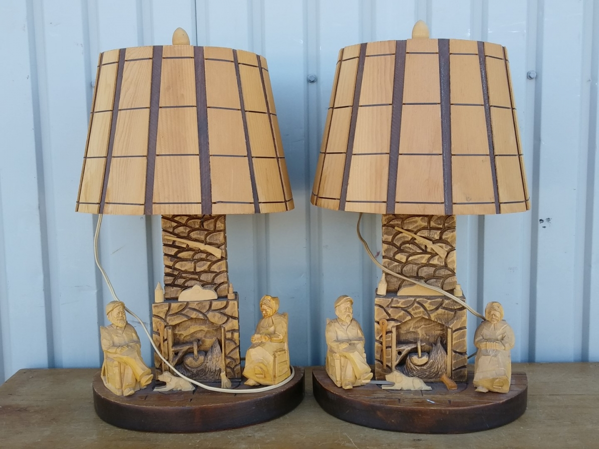 St-Jean-Port-Joli lamps 1