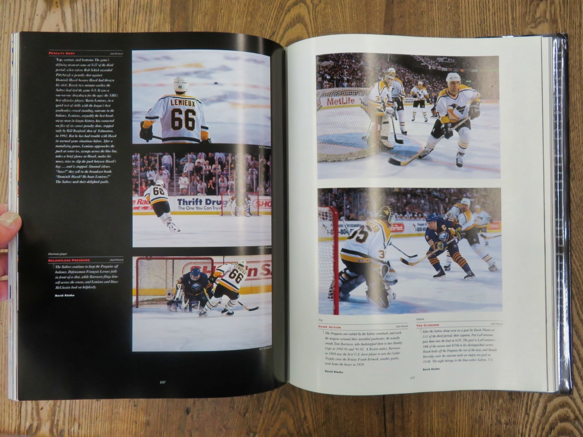 Livre, A day in the life of the National Hockey League  2