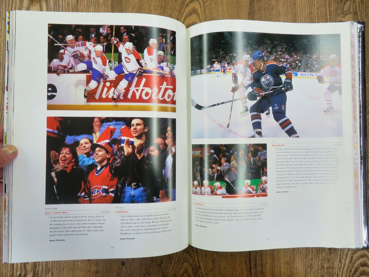Livre, A day in the life of the National Hockey League  4