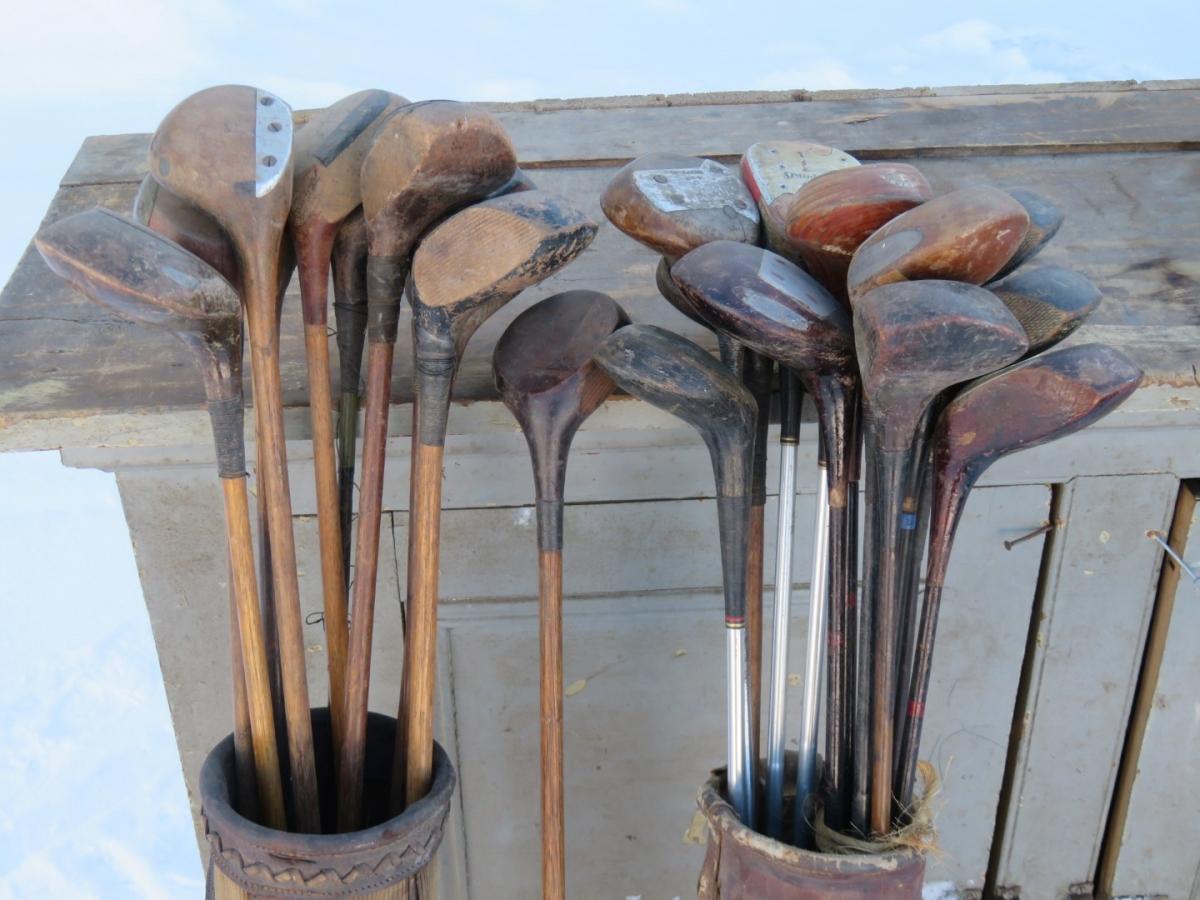 Lot de bâtons de golf 2