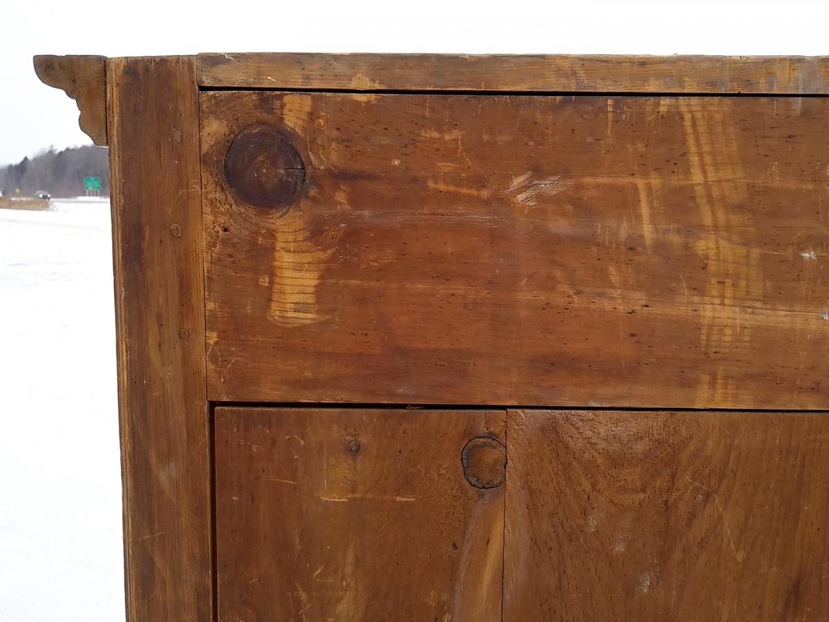 Little Quebec armoire, original color  12