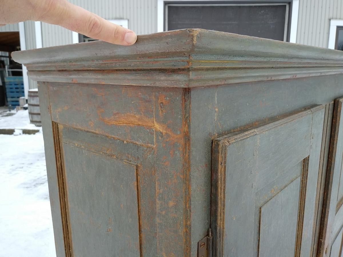 Little Quebec armoire, original color  13