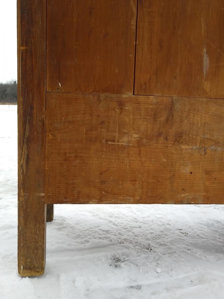 Little Quebec armoire, original color  14