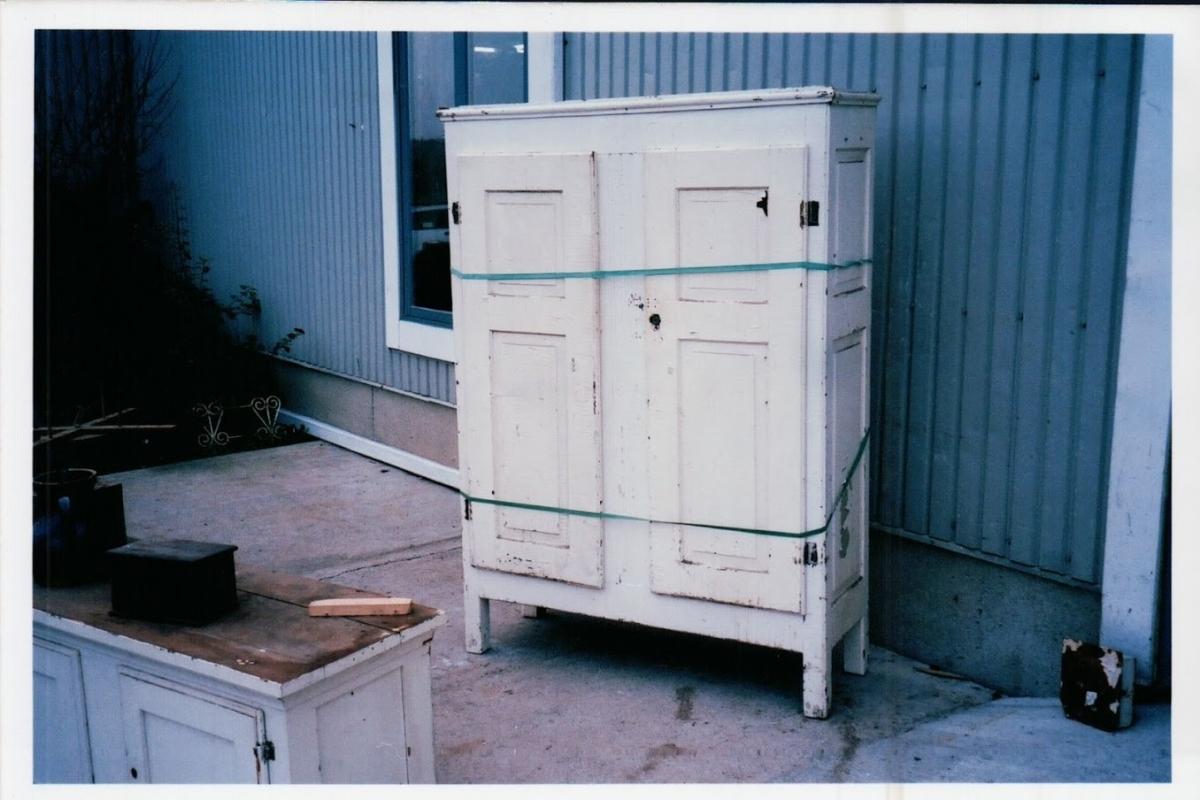 Little Quebec armoire, original color  2