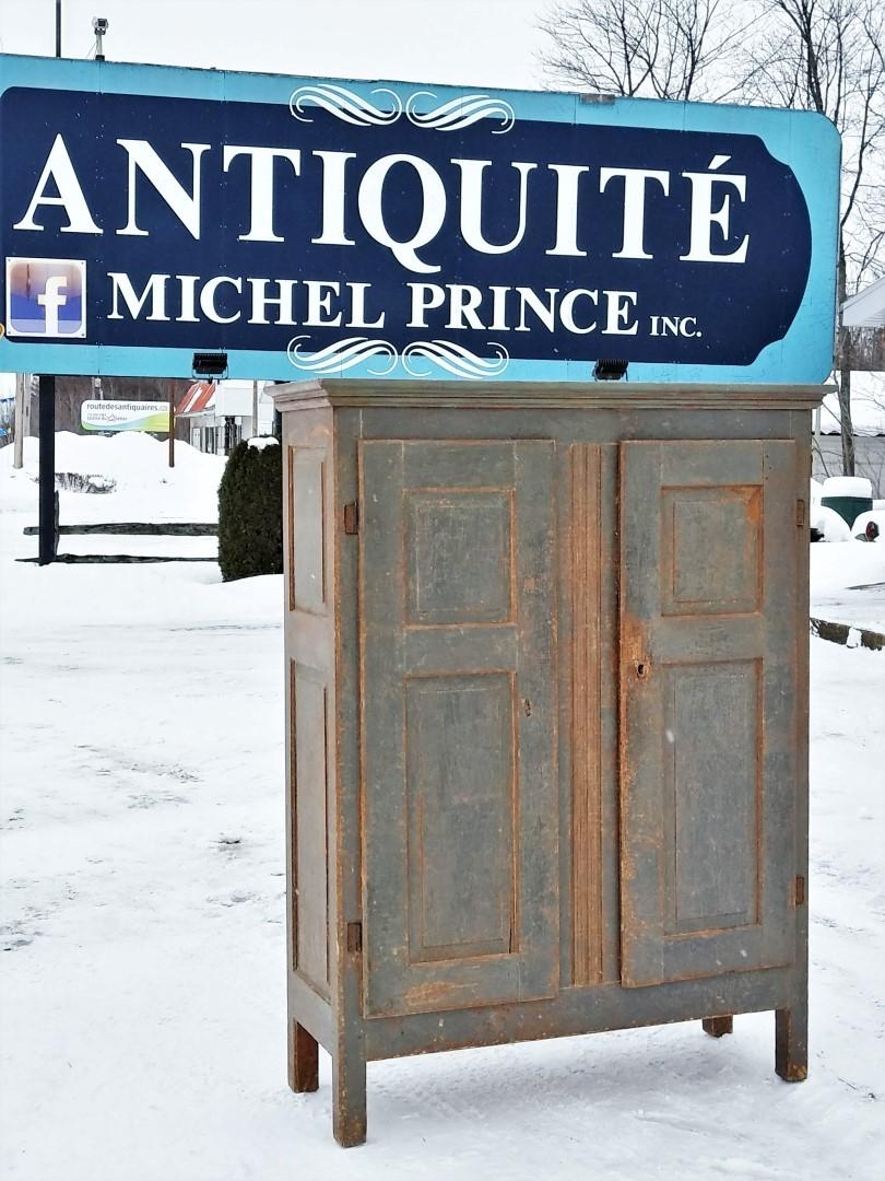 Little Quebec armoire, original color  1