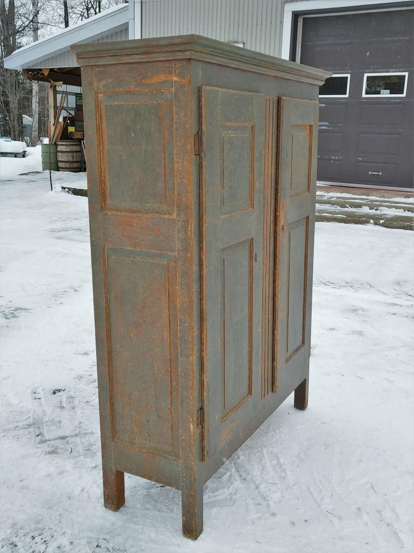 Little Quebec armoire, original color  7