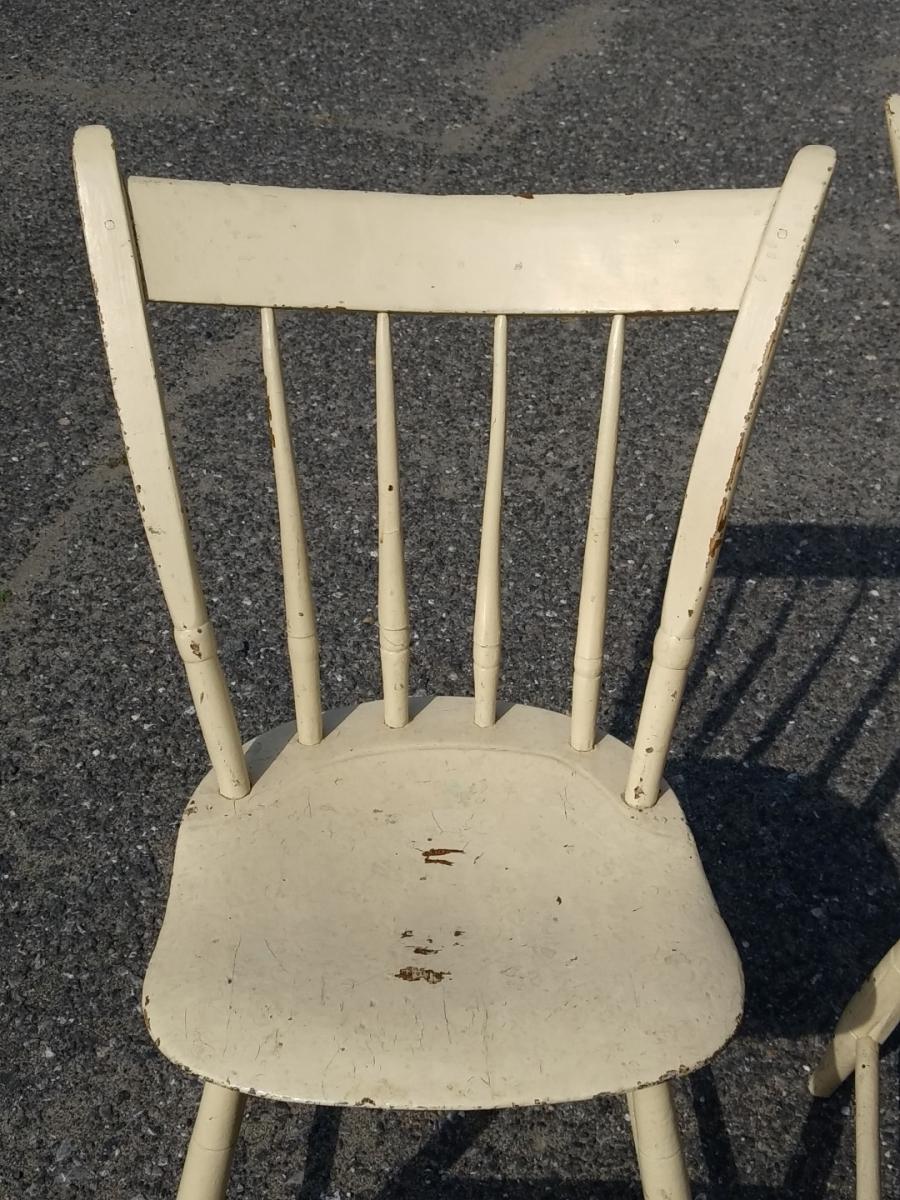 Petites chaises de style Windsor 3