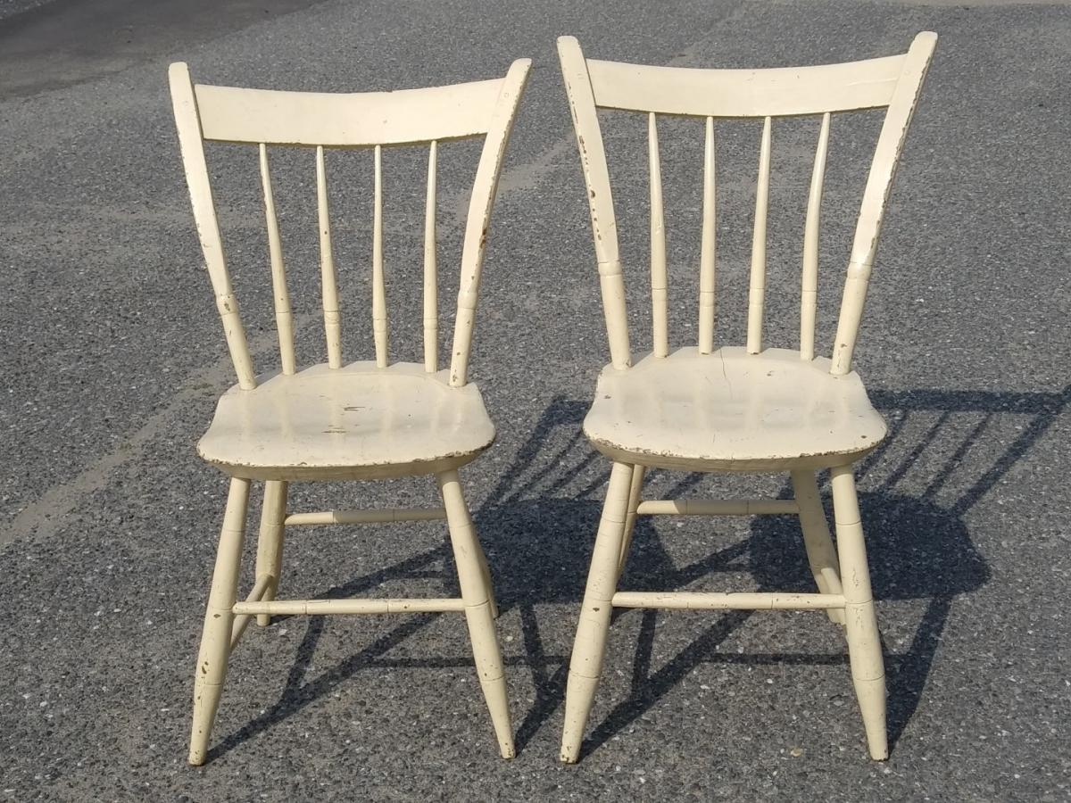 Petites chaises de style Windsor 1