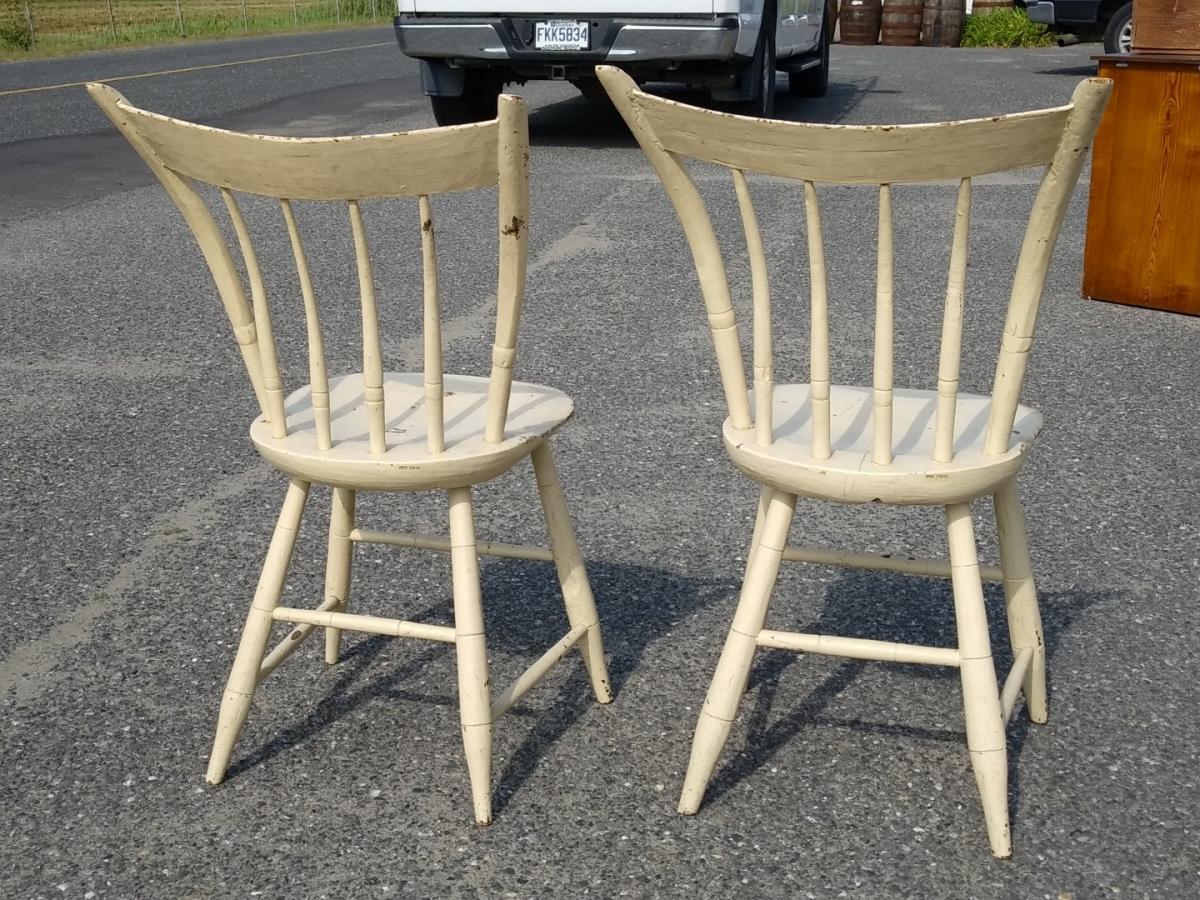 Petites chaises de style Windsor 5