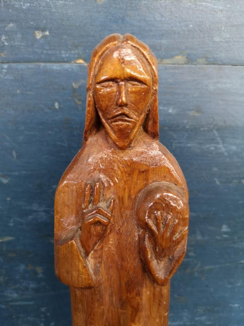 Christ wooden carving, sculpture 2