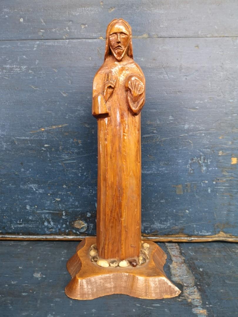 Christ wooden carving, sculpture 1