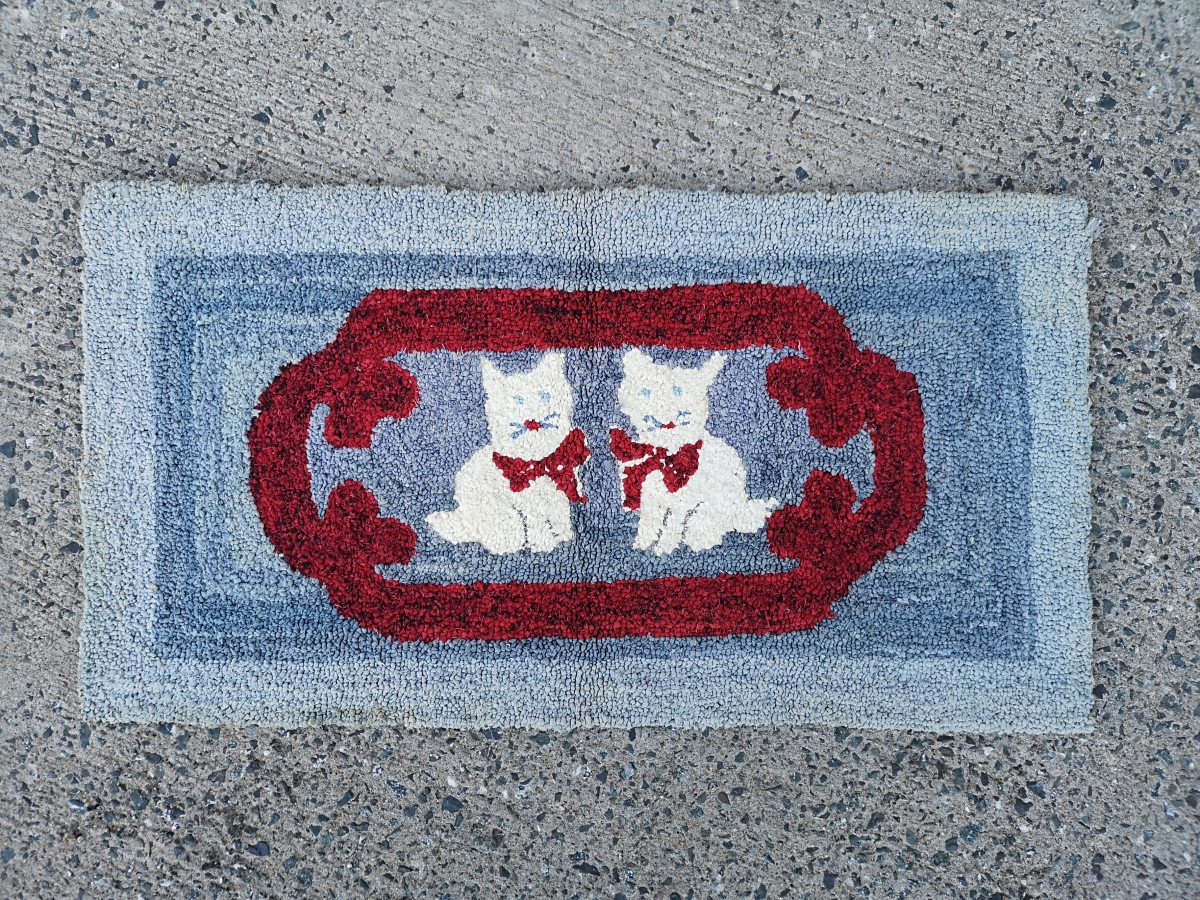 Tapis crocheté 1