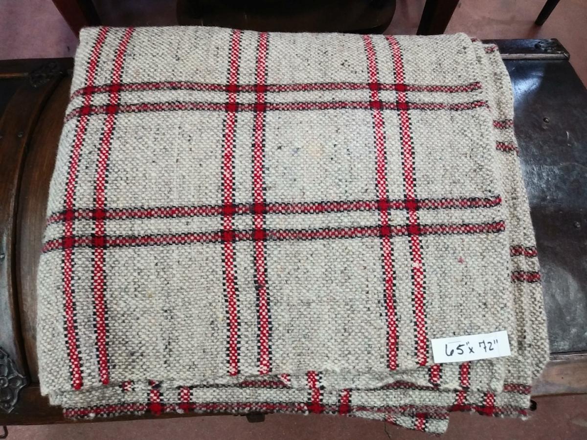 Wool blanket 12