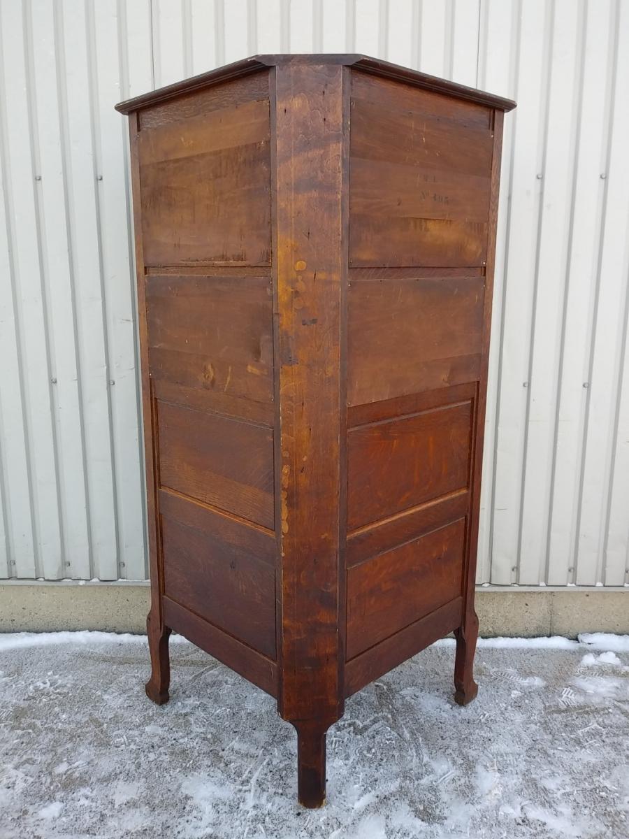 Corner china cabinet 6