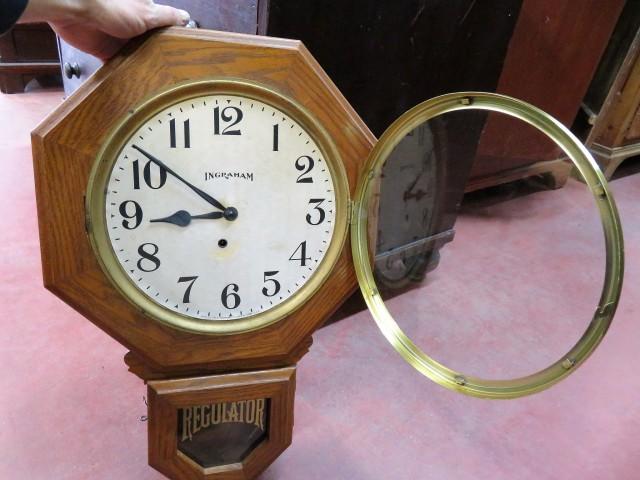 Horloge Regulator, E. Ingraham 2