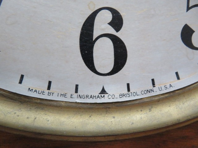Horloge Regulator, E. Ingraham 3