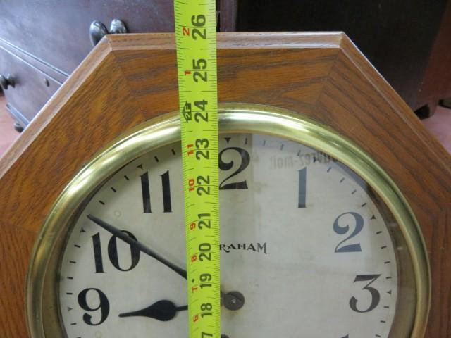 Horloge Regulator, E. Ingraham 4