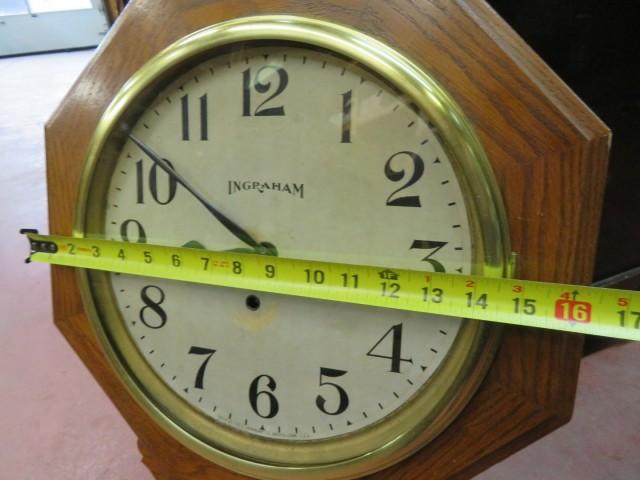 Horloge Regulator, E. Ingraham 6