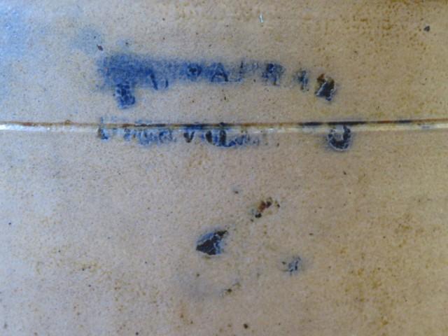 Jarre E.L. Farrar, Iberville, tinette 2