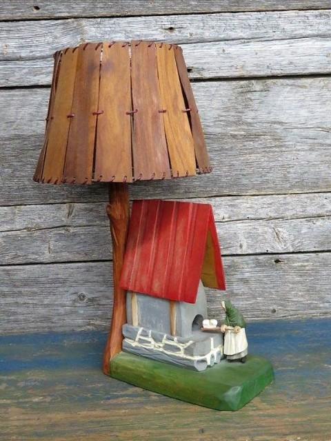 Lampe art-populaire 1