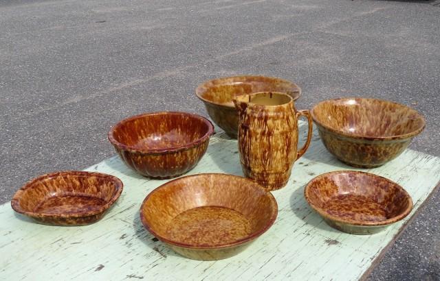 Lot de poteries Binnington 1