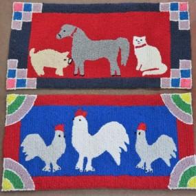 #31272 - 55$ ch Tapis crochetés