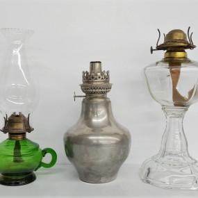 #42058 -  Vintage oil lamps