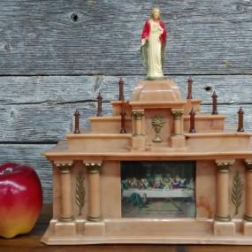 #37742 -  Petit autel religieux, lampe