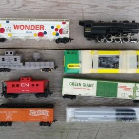 #38265 - 45$ Jouets, trains