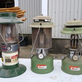#38211 - 25$ à 35$ ch. Lanternes, fanals Coleman et autres