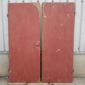 #37888 -  Portes de meuble, coloration récente