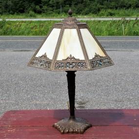 #23261 -  Lampe de style tiffanny