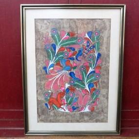 Tableau, peinture signée Rubin
