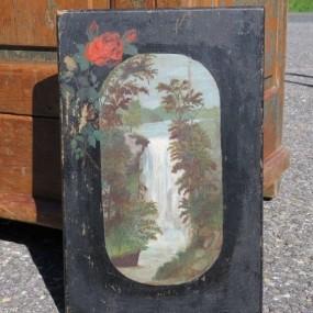 #27071 -  Peinture sur bois