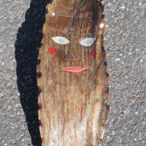 #27064 - 115$ Sculpture art populaire sur bois