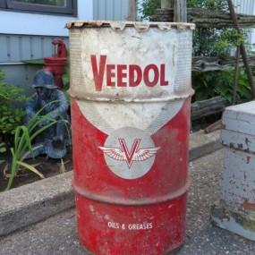 #27072 -  Contenant, baril Veedol