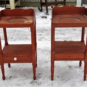 #25398 - 150$ ch. Petites tables lave-main