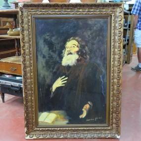 #27142 - 145$ Peinture signée Jean-Lou Bougie, tableau, art