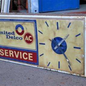 #27103 - 55$ Horloge publicitaire Delco