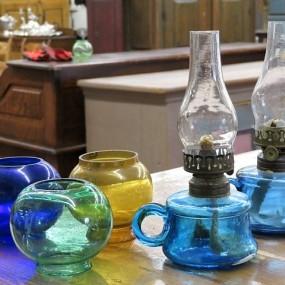 #25467 -  Globes et lampes à l'huile miniatures