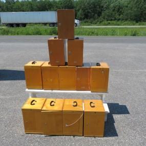 #27368 - 65$ ch. 12 microscopes dans leur boîtes, voir photos