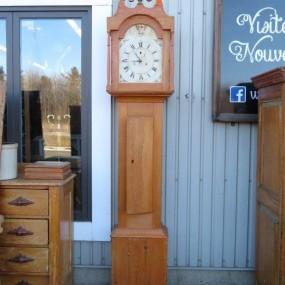 Horloge grand-père, mécanisme manquant