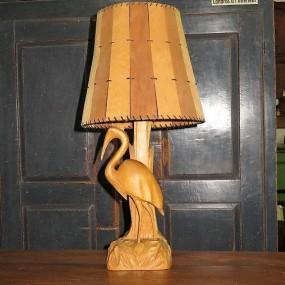 Lampe signée P-É Caron
