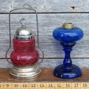#23962 - 135$ ch. marinadier et lampe à l'huile
