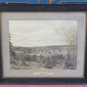 #25821 - 95$ Image in frame, Canadian National Railways
