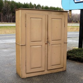 Very old pine cupboard, armoire