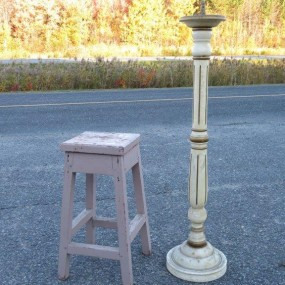 #24137 - 95$ et 85$ bench and candlestick
