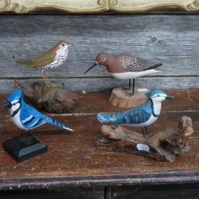 Oiseaux sculptés