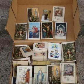 #24203 - 125$ lot d'images religieuses