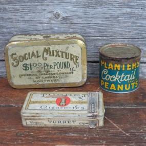 #24219 -  Lot de contenants, tin can